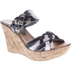 Women's Azura Mania Black Multi Leather