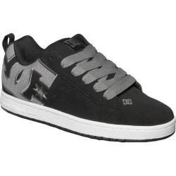 Men's DC Shoes Court Graffik SE Black/Gun Metal