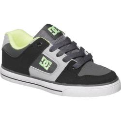Boys' DC Shoes Pure Black/Grey/Yellow
