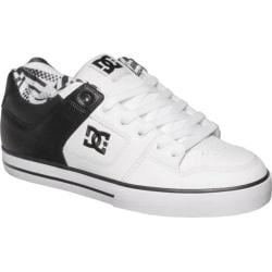Men's DC Shoes Pure SE Black/White/White