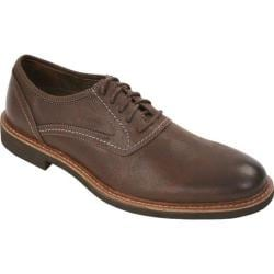Men's Deer Stags Prime Ardmore Plain Toe Oxford Dark Brown
