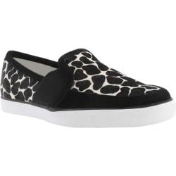 Women's Nine West Bonkers White Black Multi Pony