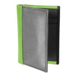 Stewart Stand Driving Wallet w/Lime Leather Accent Lime