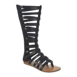 Women's Fergalicious Supreme Black Synthetic Leather
