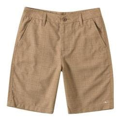 Boys' O'Neill Delta Plaid Shorts Khaki