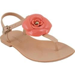 Women's Mary Pepper 2140220428 T-Strap Sandal Nude