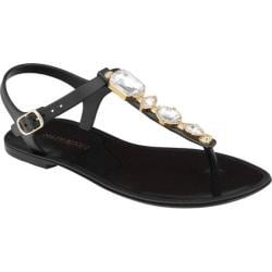 Women's Mary Pepper 2140220728 T-Strap Sandal Black