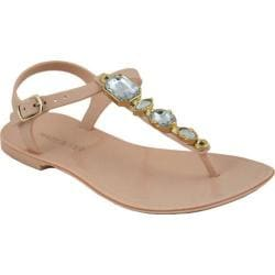 Women's Mary Pepper 2140220728 T-Strap Sandal Nude