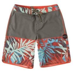 Boys' O'Neill 29 Palms Boardshorts Military Green