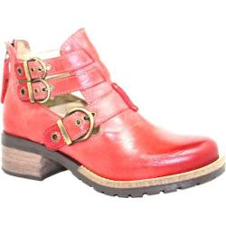 Women's Dromedaris Kelsy Boot Coral Soft Waxy Leather
