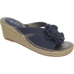 Women's Life Stride Benefit Espadrille Navy Canvas