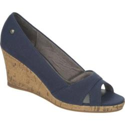 Women's Life Stride Rogue Navy Canvas