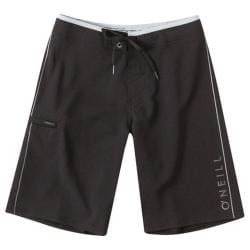 Boys' O'Neill Santa Cruz Stretch Boardshorts Black