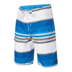 Men's O'Neill Santa Cruz Stripe Boardshorts Bright Blue
