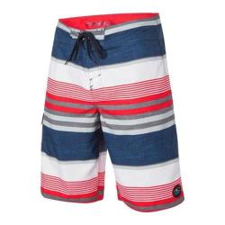 Men's O'Neill Santa Cruz Stripe Boardshorts Dark Navy