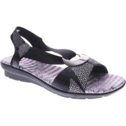Women's Spring Step Crespo Black Multi Leather