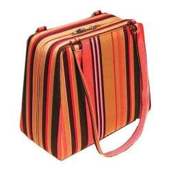 Women's Soapbox Bags 5th Avenue Classic Case Orange Stripe