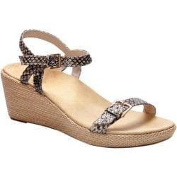 Women's Vionic with Orthaheel Technology Enisa Natural Snake