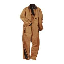 Men's Dickies Premium Insulated Coverall Tall Brown Duck