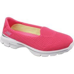 Women's Skechers GOwalk 3 Insight Hot Pink
