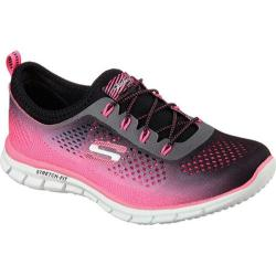 Women's Skechers Glider Fearless Hot Pink/Black