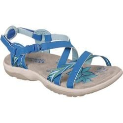 Women's Skechers Reggae Slim Keep Close Sandal Blue
