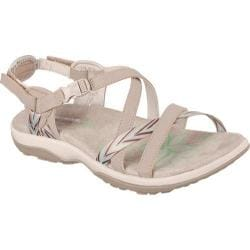 Women's Skechers Reggae Slim Keep Close Sandal Taupe