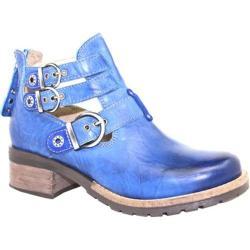 Women's Dromedaris Kelsy Boot Cobalt Soft Waxy Leather