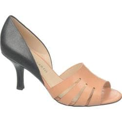 Women's Franco Sarto Isadora Nude/Black Leather