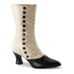 Women's Funtasma Victorian 123 Cream/Black PU