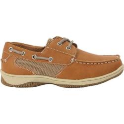 Boys' Deer Stags Jay Boat Shoe Dark Tan
