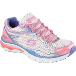 Women's Skechers Relaxed Fit Sport Prize Seeker White/Pink