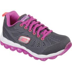 Girls' Skechers Skech-Air Inspire Charcoal/Purple