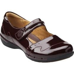 Women's Clarks Un.Helma Burgundy Patent Leather
