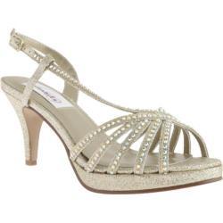 Women's Dyeables Alyssa Platform Gold Glitter