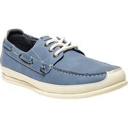 Men's Madden Rotor Boat Shoe Blue Nubuck
