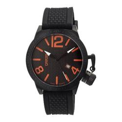 Men's Breed Falcon 5704 Black Silicone/Black/Orange