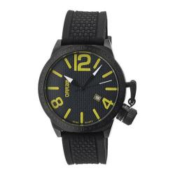 Men's Breed Falcon 5705 Black Silicone/Black/Yellow
