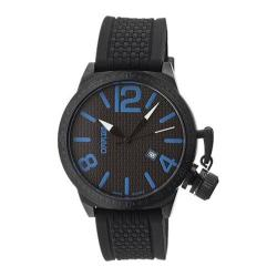 Men's Breed Falcon 5706 Black Silicone/Black/Blue