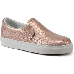 Women's Bronx Kal Loosh Rose Gold Snakeprint Leather