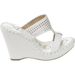 Women's Westbuitti Meira-2 Wedge Slide Sandal White