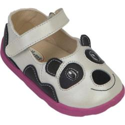 Girls' Zooligans Amanda the Panda Pearlized White/Black