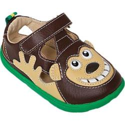 Boys' Zooligans Bobo the Monkey Chocolate Brown/Fog