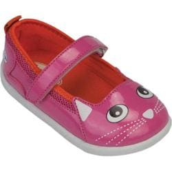 Girls' Zooligans Kitty Maryjane Magenta/Orange