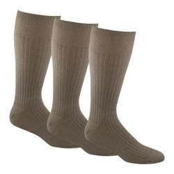 Men's Dockers Classics Fremont Crew Socks Big & Tall (6 Pairs) Khaki
