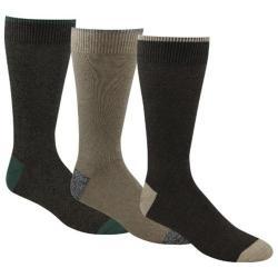 Men's Dockers Classics Metro Crew Socks (6 Pairs) Brown 15265661