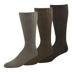 Men's Dockers Classics True Crew Socks Big & Tall (6 Pairs) British Khaki