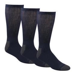 Men's Dockers Cushion Non Binding Basic Crew Sock (10 Pairs) Navy