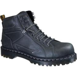 Men's Dr. Martens Diego 7 Tie Lace To Toe Boot Black Harvest