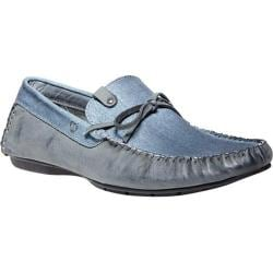 Men's Steve Madden Alffa Slip-On Blue Canvas/Leather